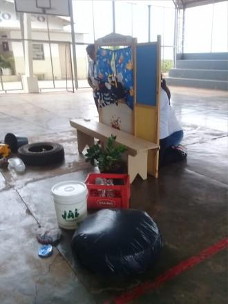 Teatro de fantoches ensina a eliminar o mosquito da Dengue