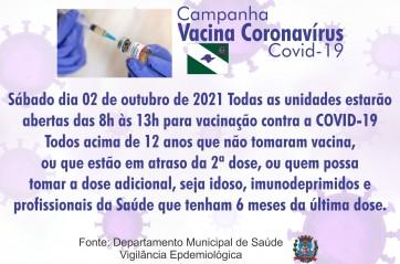 CAMPANHA VACINAÇÃP COVID-19
