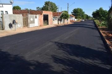 Realizada obra de Pavimentação na Rua Paraná