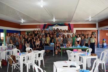 """Professores da rede municipal de Parapuã recebem palestras e orientações sobre """"Metodologias Ativas de Aprendizagem""""."""