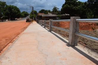 Prefeitura finaliza obras de Contenção de Erosão e Drenagem Urbana na Avenida São Paulo.