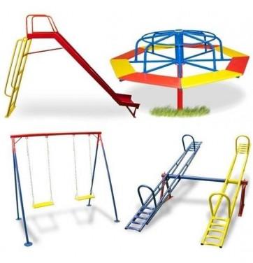 Prefeitura Adquire Brinquedos para realizar a construção de 2 praças com brinquedos infantis