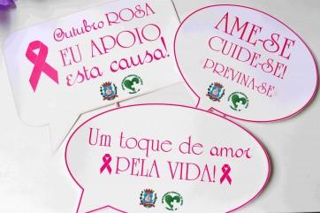 Campanha Outubro Rosa 2021 Parapuã SP